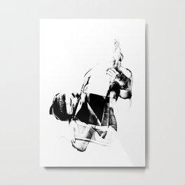 Glitch 02 Metal Print