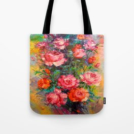 Roses art Tote Bag