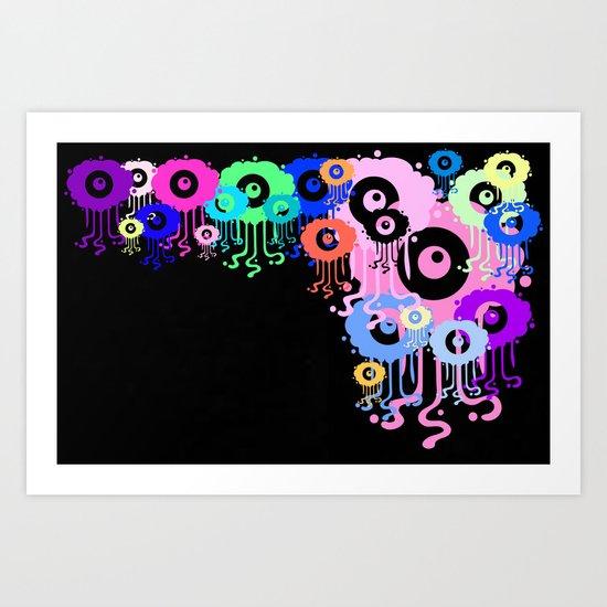 Colours of summer Art Print
