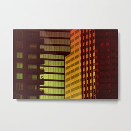 It's all Shapes and Colors - Downtown Los Angeles #68 Metal Print
