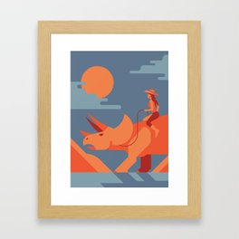 my favorite ride Framed Art Print