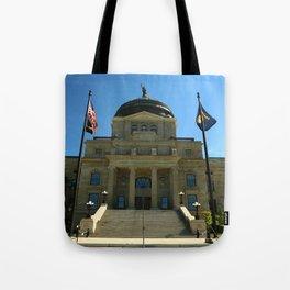 Montana State Capitol Tote Bag