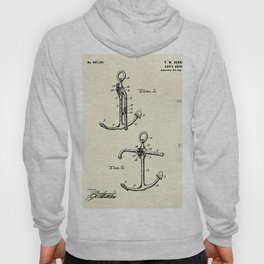 Ship's Anchor-1902 Hoody