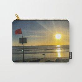 Sunset on Coronado Beach, California Carry-All Pouch