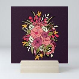 Jungle Bouquet 001 Mini Art Print