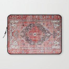Vintage Anthropologie Farmhouse Traditional Boho Moroccan Style Texture Laptop Sleeve