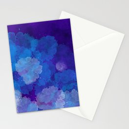 Emergent Moon Stationery Cards