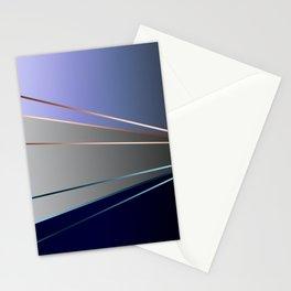 Blue, gray, light blue Stationery Cards