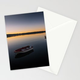 Sunrise over Knysna Lagoon in Western Cape, South Africa Stationery Cards