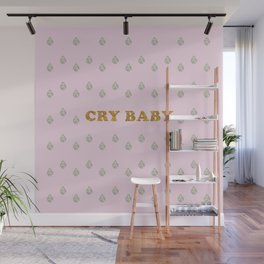 Lucent Tears (Cry Baby) Wall Mural