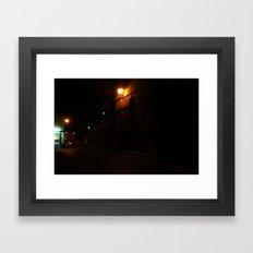 Evening Lights 6 Framed Art Print