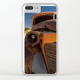 Old Hudson Clear iPhone Case