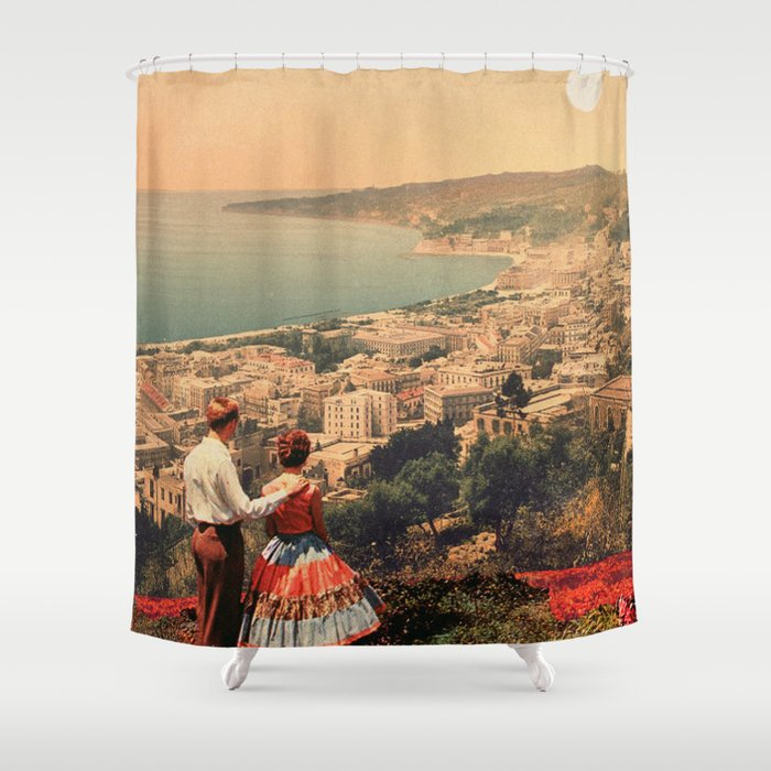 Is This The City We Dreamt Of Shower Curtain