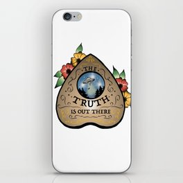 The Truth Is Out There Ouija Planchette  iPhone Skin