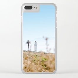 Travel photography Palos Verdes VI Lighthouse Clear iPhone Case