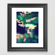 Flowers in Germany Framed Art Print
