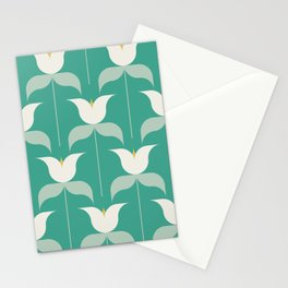 Adelaide Modern Holland in Seafoam Stationery Cards