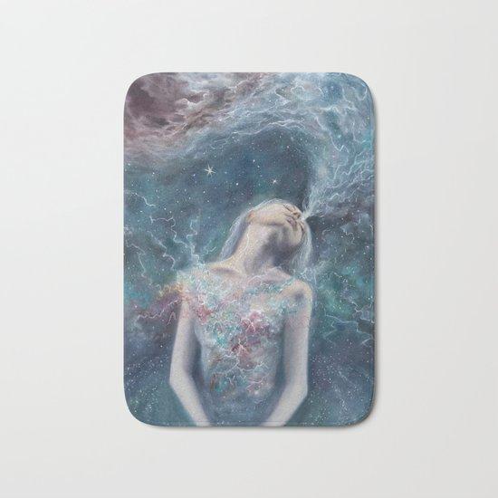Love Will Split You Open Into Light Bath Mat