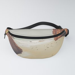 Beach Day - Ocean, Coast - Landscape Nature Photography Fanny Pack
