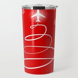 Christmas Planes Travel Mug