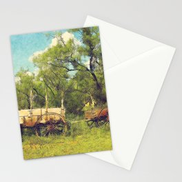 Army Wagon and Mule c.1840s Stationery Cards