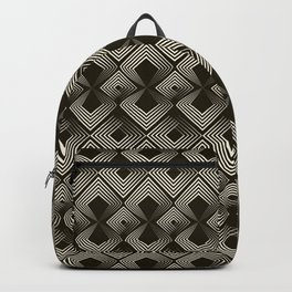 Seamless antique pattern ornament Backpack