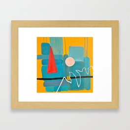 Abstract Study of Gnome (Pt.5) Framed Art Print