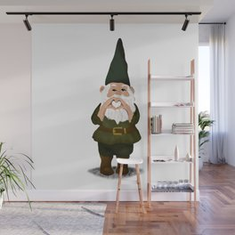 Hangin with my Gnomies - I Heart You Wall Mural