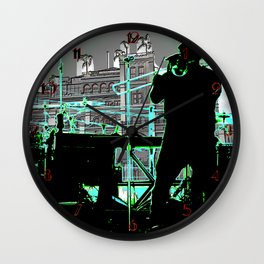 Big Sam (Trombone Man) Wall Clock