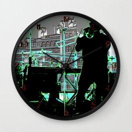 Big Sam (Trombone Man) Wall Clock