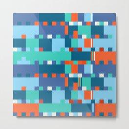 Chopin Fantaisie Impromptu (Anemone & Coral Colours) Metal Print