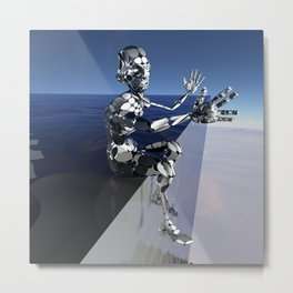 Outta This World I Metal Print