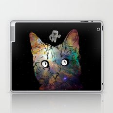 Space Cat Laptop & iPad Skin
