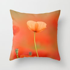 Two poppies 1873 Throw Pillow