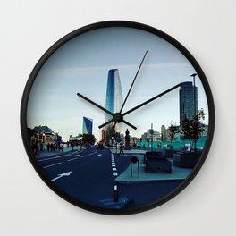 City. Wall Clock