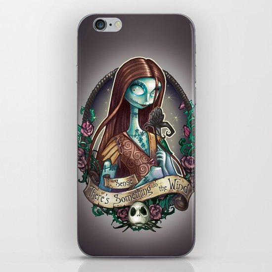 """Something In the Wind"" iPhone & iPod Skin"