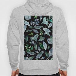 Watercolor fallen leaves 9 Hoody