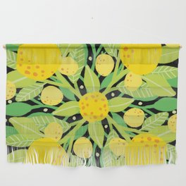 When life gives you lemons, make a lemon pattern Wall Hanging