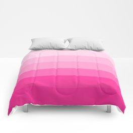 Beauty Powder Puff Pink Comforters