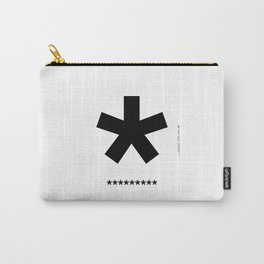 Helvetica Typoster #3 Carry-All Pouch