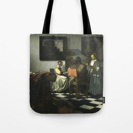 Stolen Art - The Concert by Johannes Vermeer Tote Bag