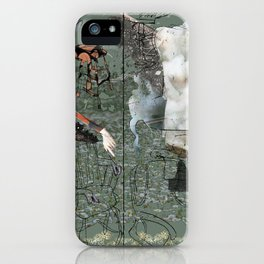 Dionysus and Apollo iPhone Case