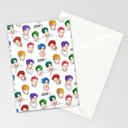 GOT7 Colourful Stationery Cards