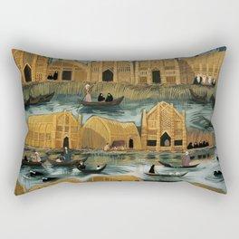 Iraq's Marshes Rectangular Pillow
