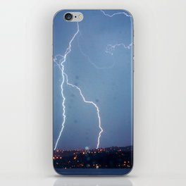 They want rain without thunder and lightning. iPhone Skin