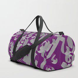 3D Ornamental Background Duffle Bag