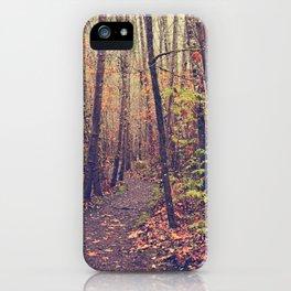 Fall Trail iPhone Case