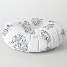 Diamonds pattern Floor Pillow