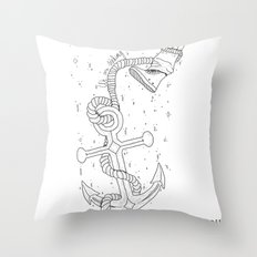 We are sinking Throw Pillow