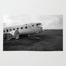 Abandoned Plane Rug